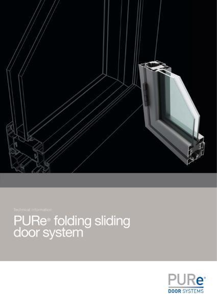 PURe Folding Sliding Door Datasheet