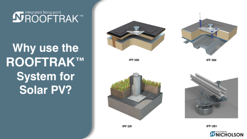 Why use the ROOFTRAK system for Solar PV?
