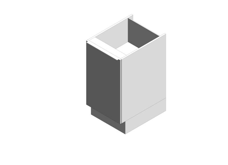 Linear Base Cabinet - Single