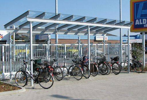 Ainsley Cycle Shelter