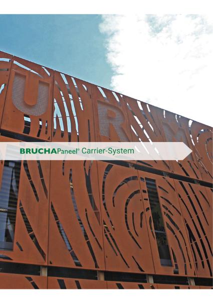 Ostman Brucha Facade Carrier System