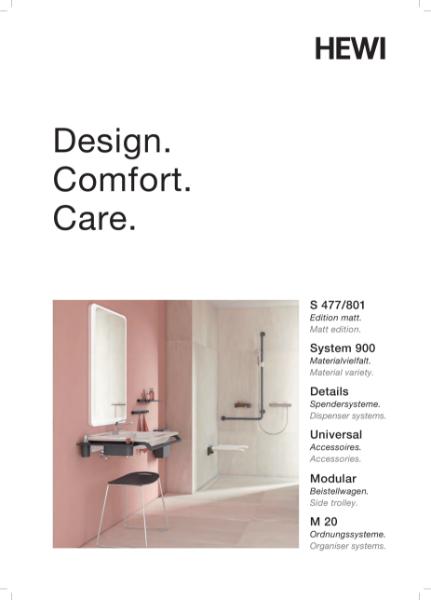 HEWI Design. Comfort. Care.