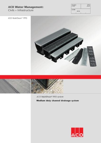 ACO MultiDrain PPD brochure