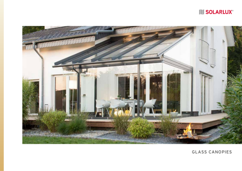Glass Canopies and Glass Houses - General Brochure