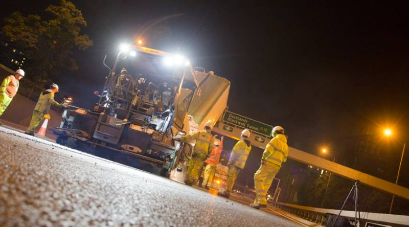 A1 widening project