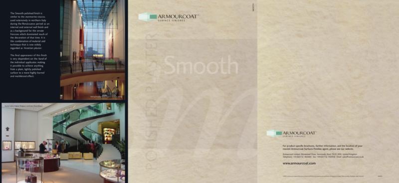 Polished Plaster Smooth Brochure