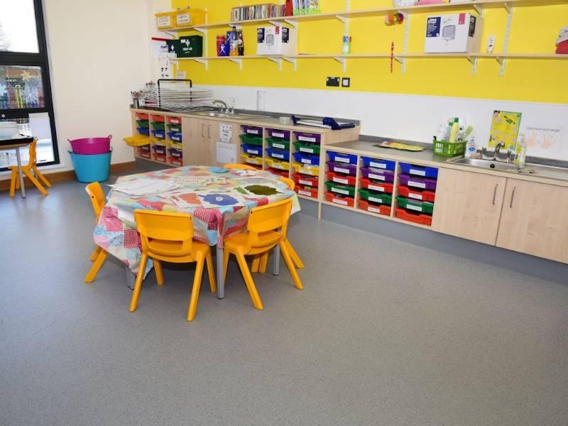 Safety flooring helps create a greener school for Ysgol Dafydd Llwyd