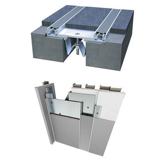 Wall and Ceiling Expansion Joint Systems