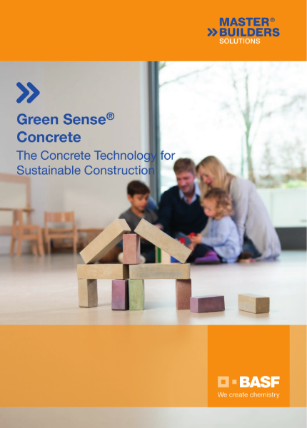 Green Sense Concrete - The Concrete Technology for Sustainable Construction