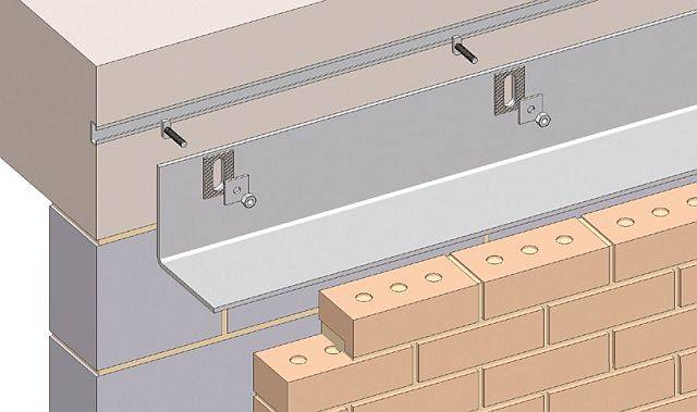 Masonry Support System - WSCFA Cold Formed Angle/ Gusseted Angle System