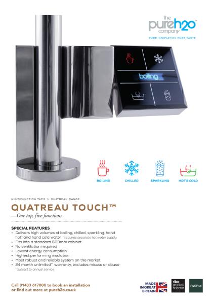 Quatreau Touch Technical Specification