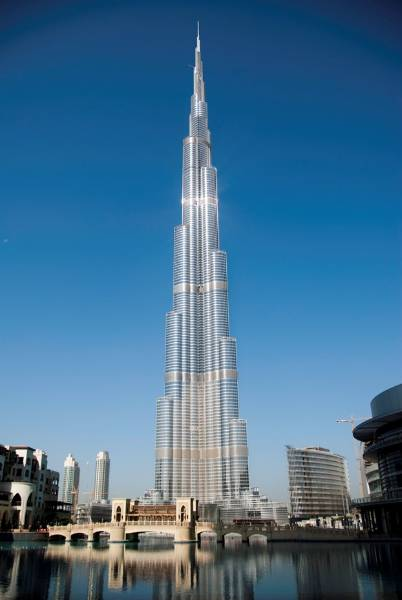 Guardian glass covers the Burj Khalifa