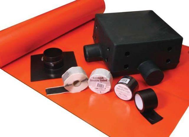 Radbar® 500 µm Amber 2 Gas Barrier
