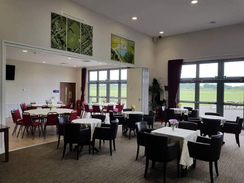 Sliding folding partition installed in £6 million pound Sports Hub