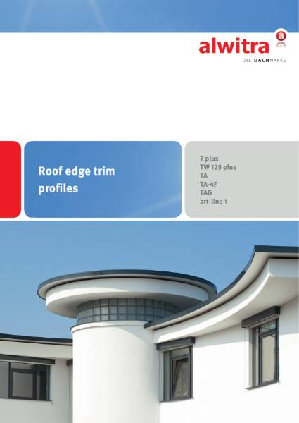 alwitra Roof Edge Trim Profiles