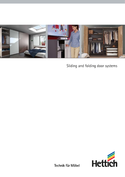 Product Catalogue - Sliding and folding door systems