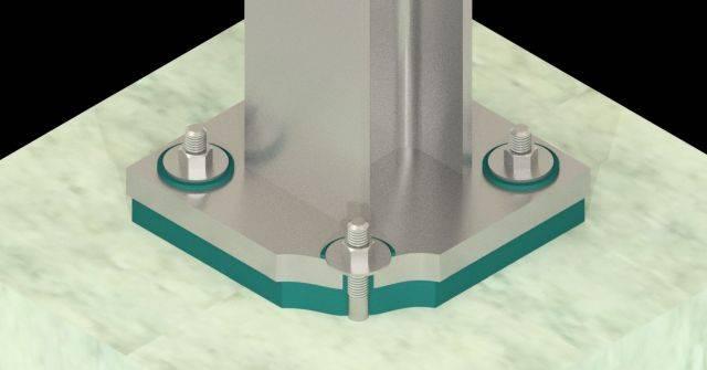 Steelwork Isolation System – Farrat CineSTEEL NEO