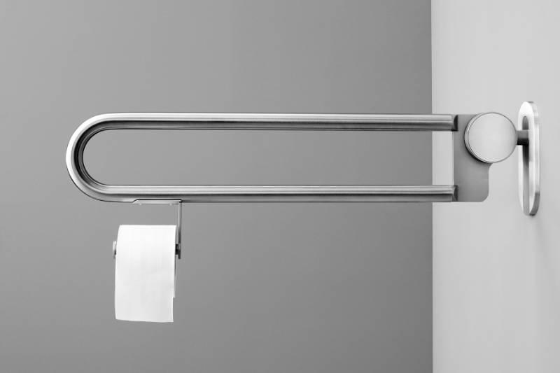 Barier free 850 mm folding grab rail