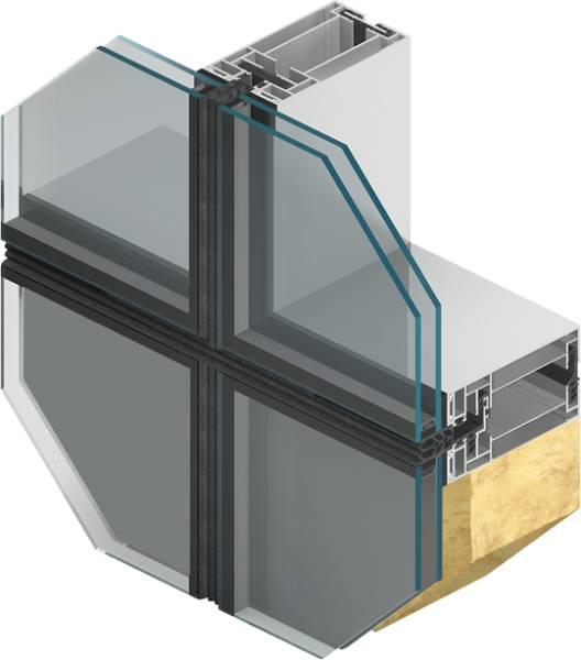MB-SE80 SG Unitized Façade System