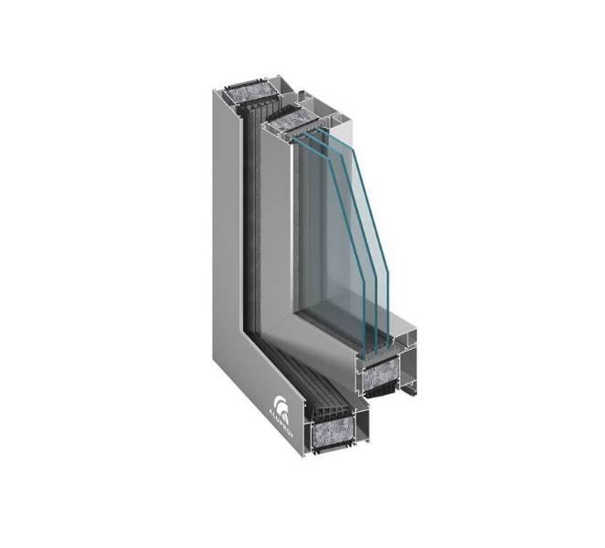 Aluprof MB-104 Passive SI Windows