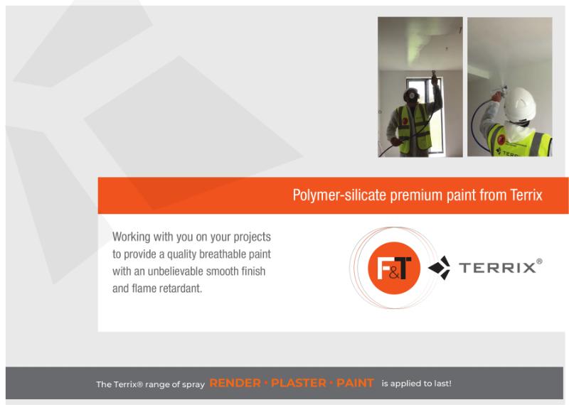 Polymer Silicate internal Premium Paint