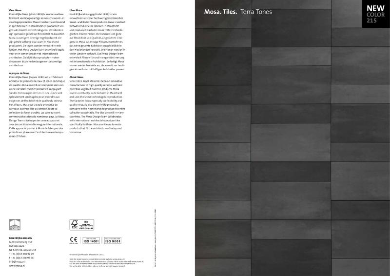 12. Mosa Terra Tones - Setting the Tone