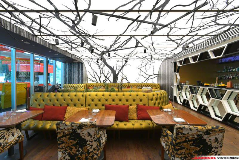Barrisol Printed Light® - Hotel W by Jose Andres - Mexico