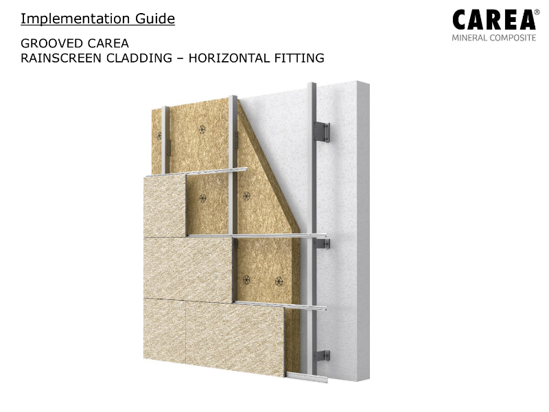 Implementation Guide for Grooved Panels