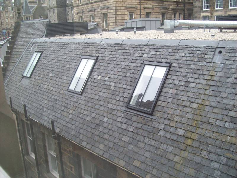 Bespoke FAKRO conservation roof windows for flagship Edinburgh development