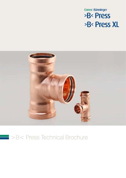 >B< Press & >B< Press XL Technical Brochure
