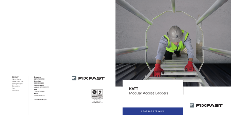KATT Access Ladder Product Overview
