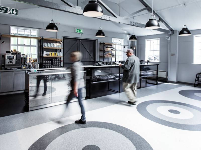 The sky's the limit for Polyflor flooring at Imperial War Museum