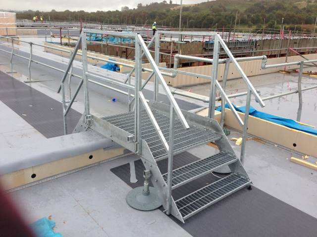Payload Walkway/ Step overs