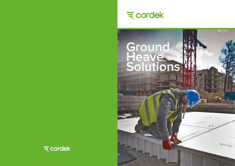 Cordek Ground Heave Solutions Brochure