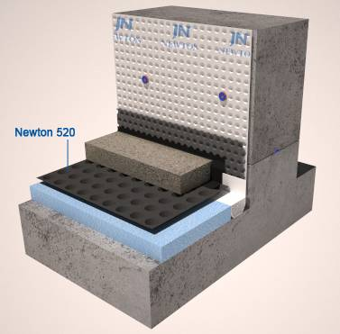 Newton 520 eco – Waterproofing floor membrane
