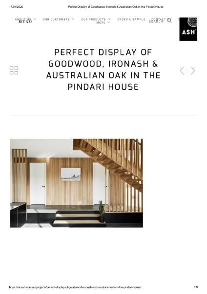 Pindari House Perfect Display