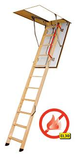 LWF Fire Resistant Loft Ladder