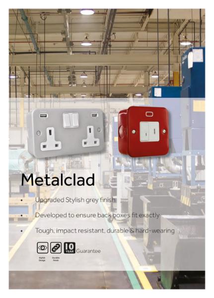 Metalclad Heavy Duty Wiring Accessories