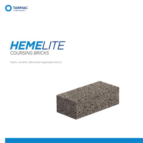Hemelite Coursing Bricks - Aggregate Blocks Product Guide