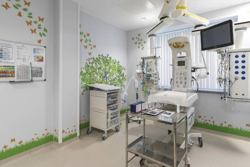 Acrovyn by Design helps to create a calm environment in a new Neonatal Unit