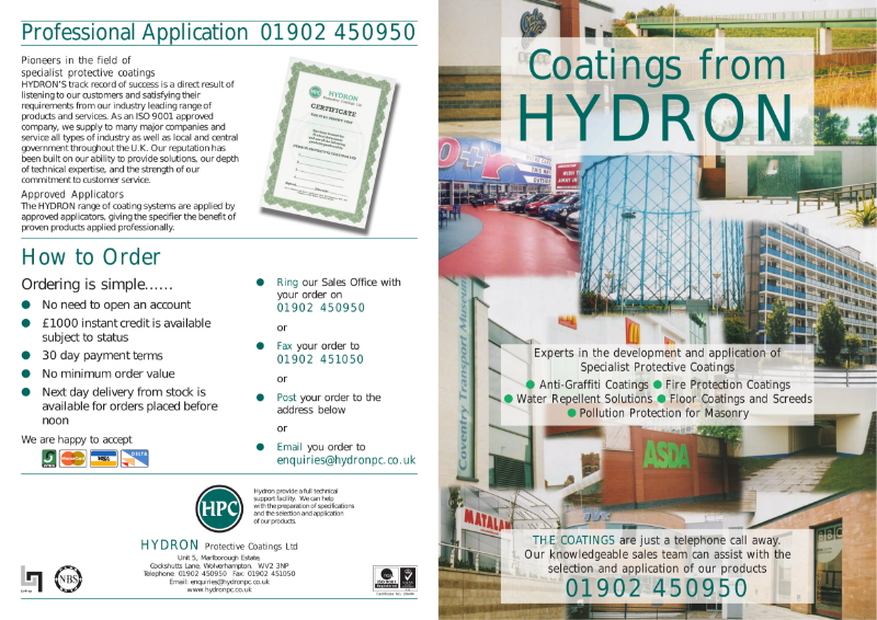 Anti Graffiti Coatings from Hydron