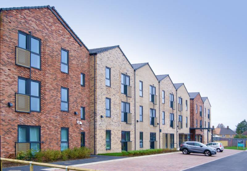 Spectus Flush Tilt & Turn Windows Specified for New Build Social House Development. 200 Spectus Flush Tilt & Turn Windows were specified for a 60-home extra care development in Grimsby.
