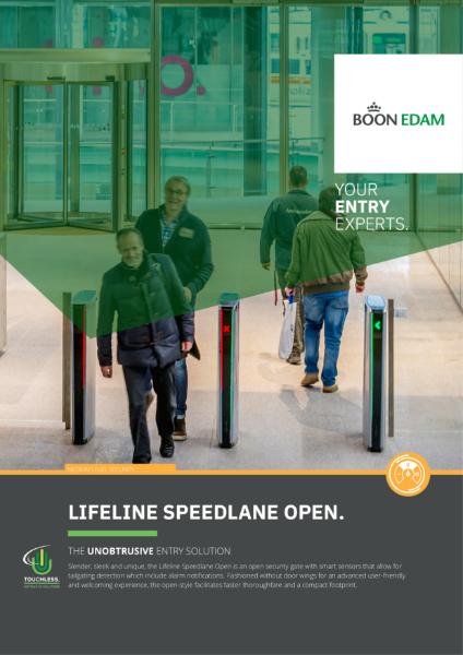 Lifeline Speedlane Open - The Unobtrusive Entry Solution