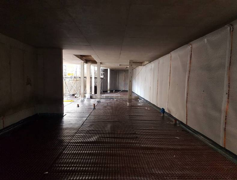West London – Combination Waterproofing (2 forms) to BS 8102:2009