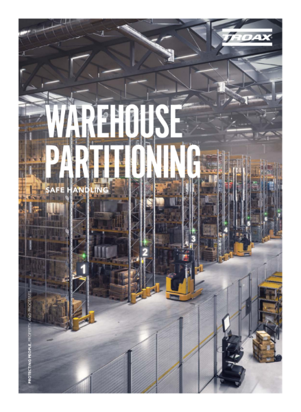 Troax Warehouse Partitioning