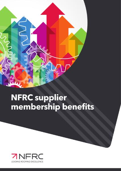 NFRC Supplier Membership Benefits
