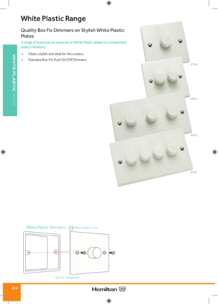 Plastic Dimmers