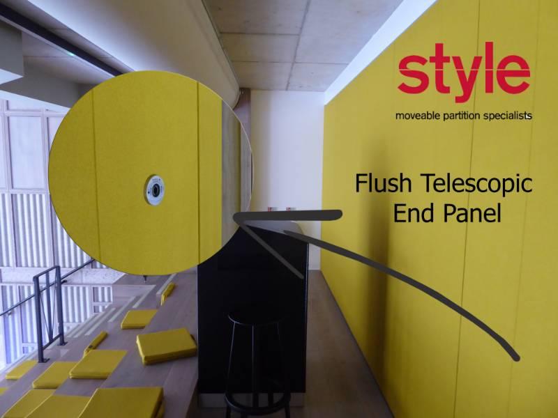 Dorma Hüppe launches unique end-panel for sliding partitions