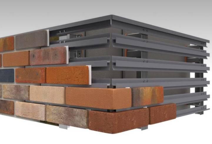 MechSlip Brick Cladding System
