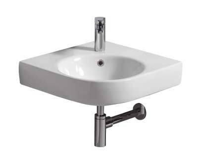 E200 500 Corner Wash Basin